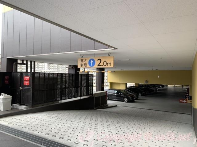 らくスパガーデン名古屋(名古屋市名東区)駐車場