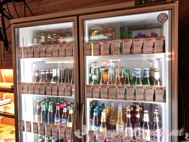 らくスパガーデン名古屋(名古屋市名東区)5階のpizzaa&trottotia の世界31か国70種のビール