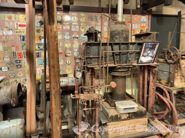 醸造「伝承館」(愛知県半田市)、味噌たまり製造の機械