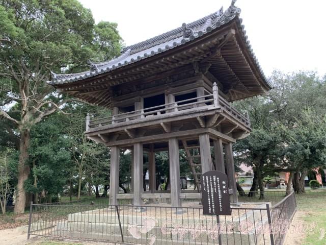 野間大坊(愛知県知多郡美浜町)の鐘楼堂