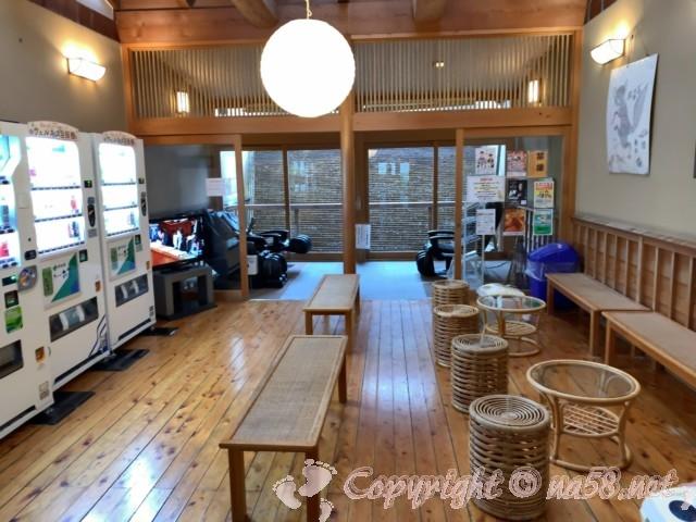 「ごんぎつねの湯」(愛知県半田市)湯上りの休憩所