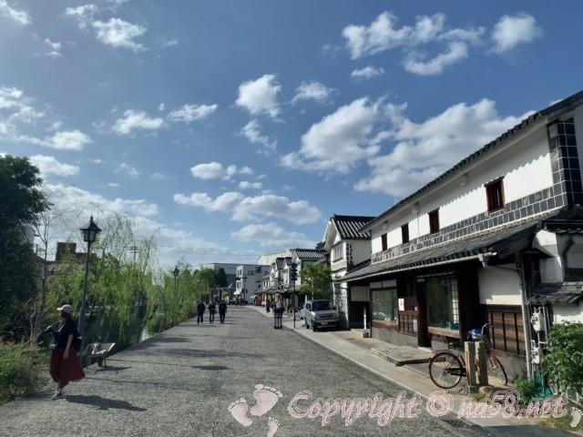 倉敷美観地区(岡山県倉敷市)の素晴らしい景観