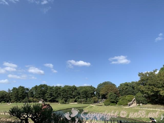 岡山後楽園(岡山県岡山市)の園内の風景