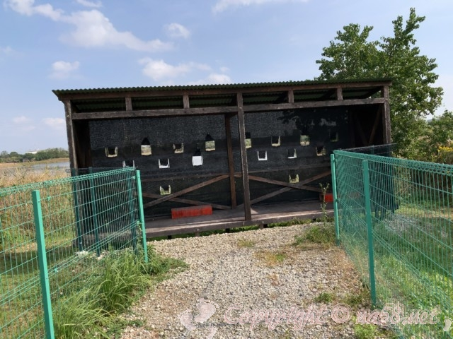 弥富野鳥園(愛知県弥富市)野鳥観察路突き当りにある観察窓