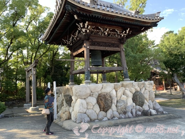 龍照院(愛知県蟹江市)の梵鐘