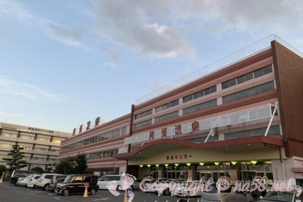 尾張温泉東海センター(愛知県蟹江市)の正面外観