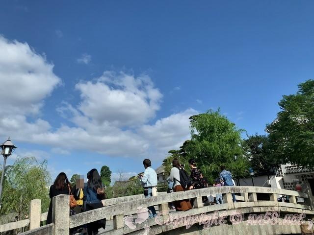 「倉敷美観地区」(岡山県倉敷市)橋の上からの撮影スポット