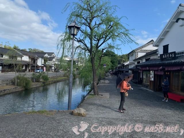 「倉敷美観地区」(岡山県倉敷市)倉敷川付近での撮影スポット