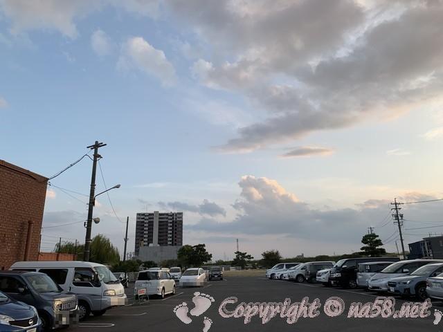 尾張温泉東海センター(愛知県蟹江市)の駐車場