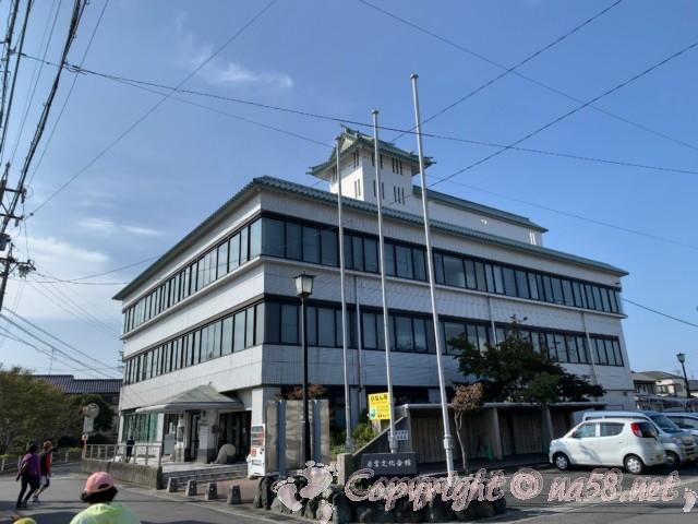 蟹江町歴史民俗資料館(愛知県蟹江町)外観
