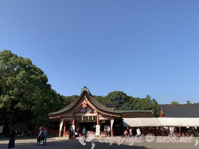 津島神社(愛知県津島市)の拝殿