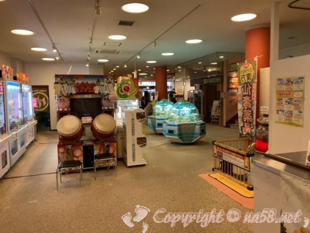 天然温泉 湯楽(愛知県津島市)のゲームコーナー