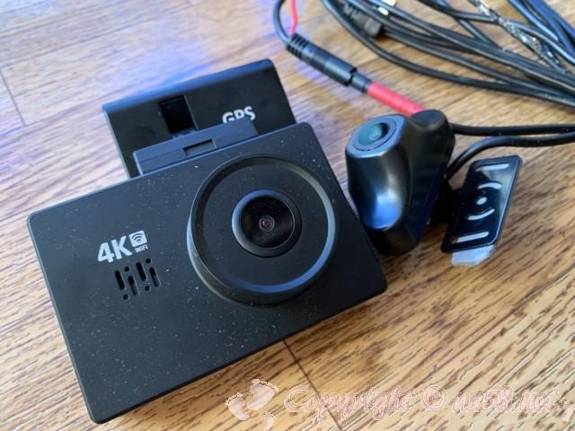買ってすぐにエラーを起こした前後カメラ付きドライブレコーダー