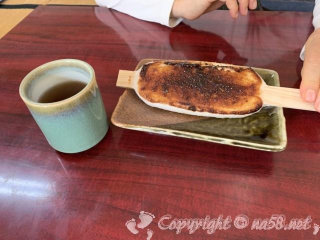 「小原四季桜まつり」愛知県豊田市、和紙のふるさとの「紙の花」の五平餅