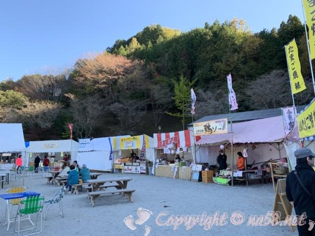 「小原の四季桜」愛知県豊田市、2019年11月12日訪問、小原ふれあい公園