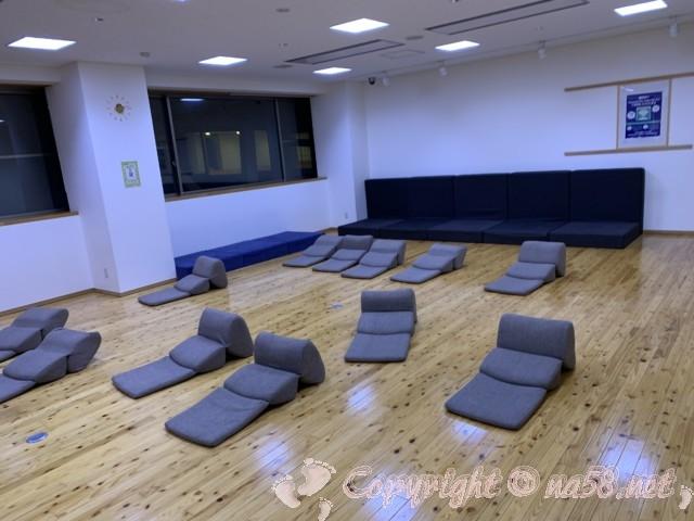稲武温泉「どんぐりの湯」(愛知県豊田市)二階の多目的室