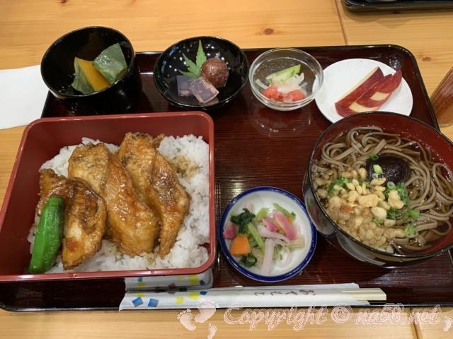 チョウザメ料理、ロイヤル定食(道の駅「グリーンポート宮嶋」)愛知県豊根村