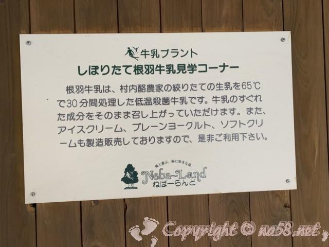ネバーランド(長野県根羽村)の工場見学コーナー