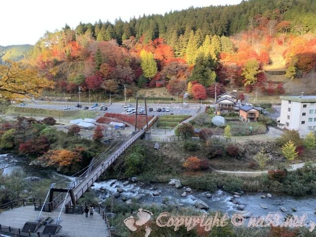 大井平公園(豊田市稲武町)の展望所からの風景