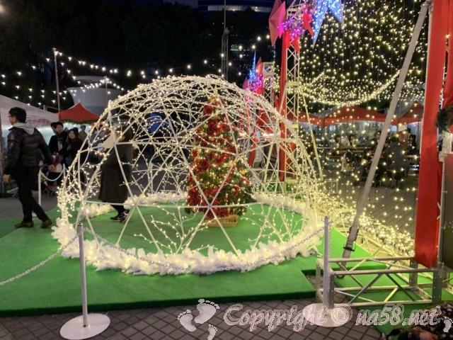 名古屋クリスマスマーケット(中区久屋大通り公園)2019年フォトスポット
