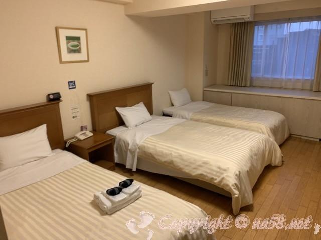 伊東園ホテル熱海館(静岡県熱海市)の客室ツインの部屋