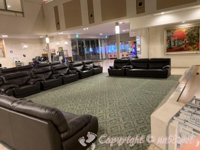 伊東園ホテル熱海館(静岡県熱海市)休憩は別館の一階のソファーで