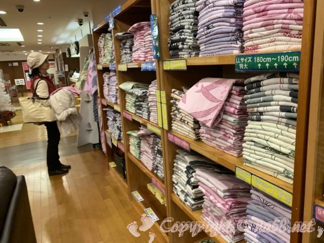 伊東園ホテル熱海館(静岡県熱海市)の一階浴衣貸し出しコーナー