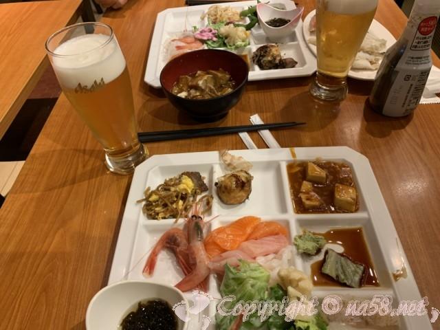 伊東園ホテル熱海館(静岡県熱海市)夕食、食べ放題飲み放題