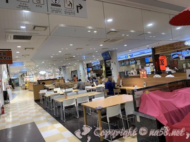 「道の駅富士川楽座」(静岡県富士市)富士川SAの飲食店施設
