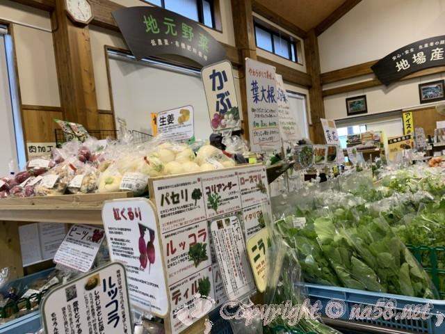 「道の駅潮見坂」(静岡県湖西市)の施設、地元の産物