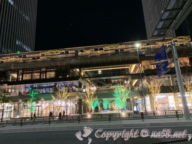 名古屋笹島「グローバルゲート」クリスマスイルミネーション2019