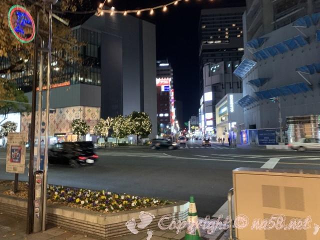 名古屋駅前通りのイルミネーション2019