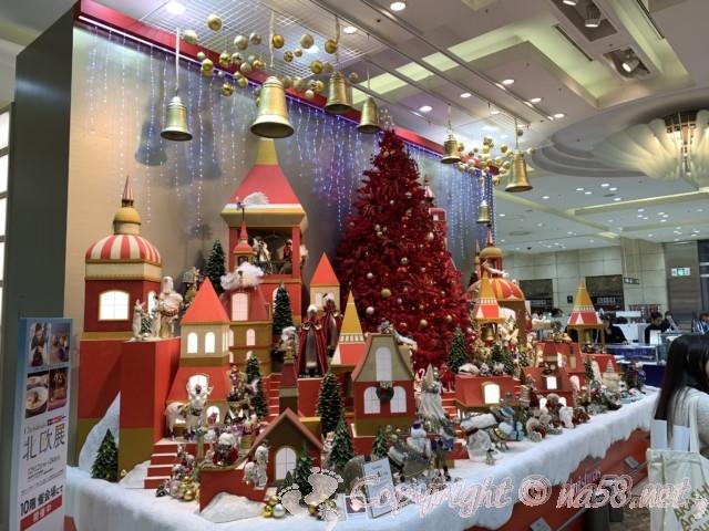 JR名古屋高島屋一階のクリスマス飾り2019年