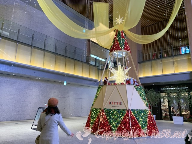 KITTE名古屋のクリスマスイルミネーション2019