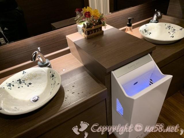 土岐よりみち温泉(岐阜県土岐市)トイレの手洗い場