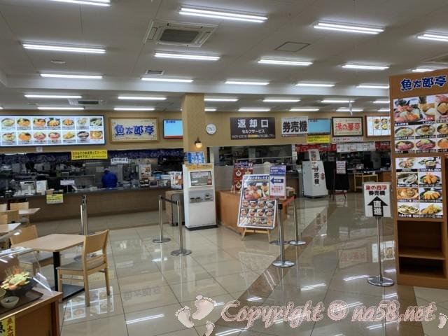 「湯の華食堂」湯の華アイランド(岐阜県可児市)食堂ないの様子