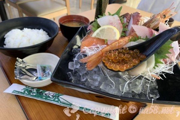 「湯の華食堂」(岐阜県可児市)の魚太郎亭で魚太郎定食