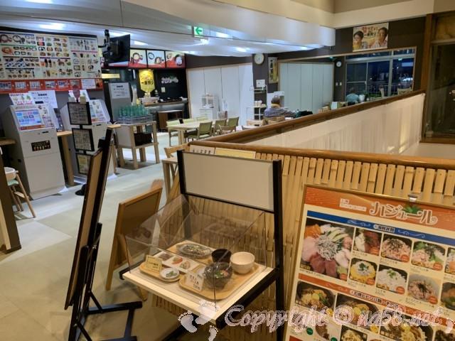 天然温泉かきつばた(愛知県刈谷市)二階の食事処、カジュール