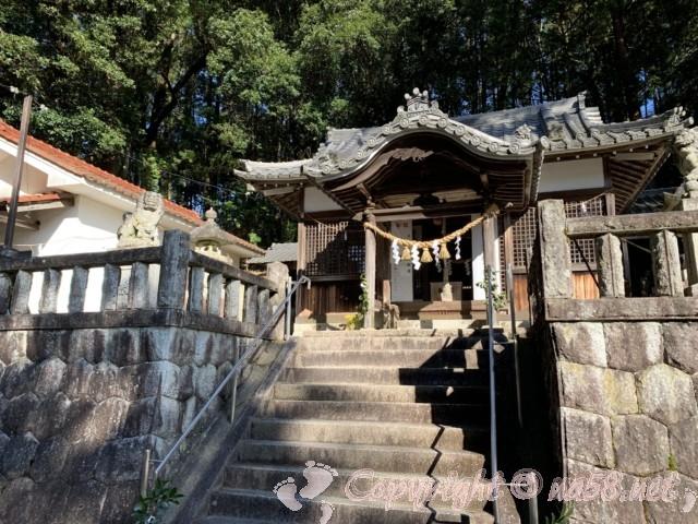 世界一(日本一)の狛犬(こまいぬ)(岐阜県瑞浪市)のある「八王子神社」