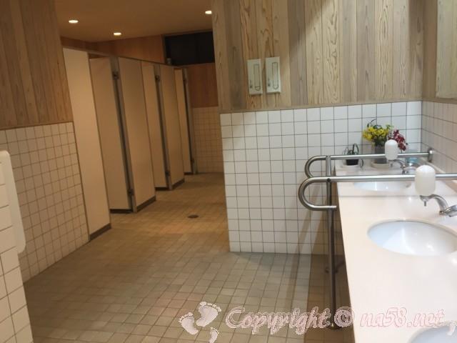 道の駅池田温泉(岐阜県池田町)の女性用トイレ