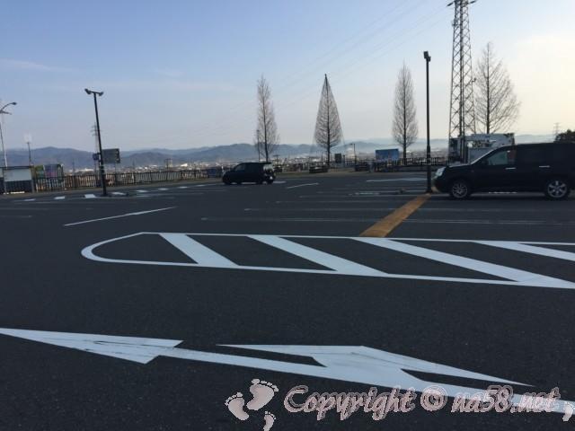 道の駅池田温泉(岐阜県池田町)下の駐車場