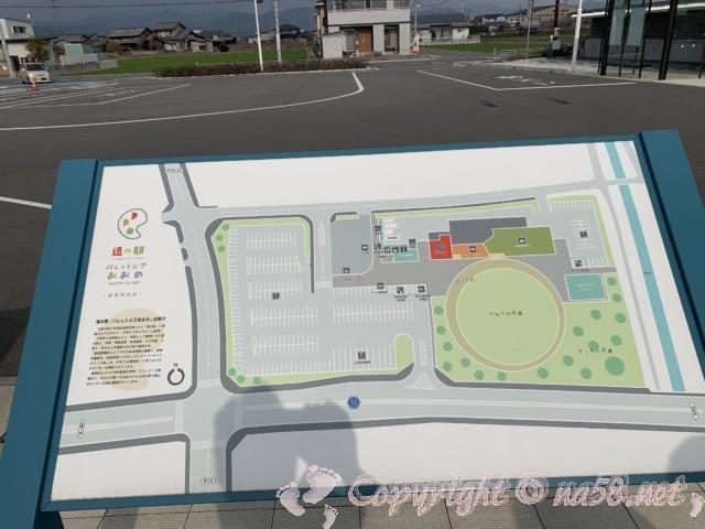 道の駅パレットピアおおの(岐阜県大野町)のマップ