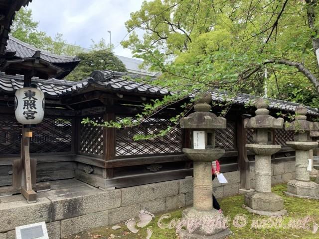 「名古屋東照宮」(名古屋市中区)の建築物