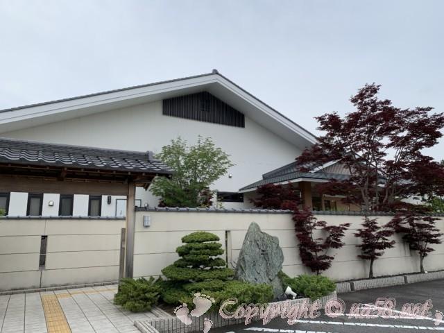天光の湯(岐阜県多治見市)天然温泉 入り口玄関付近