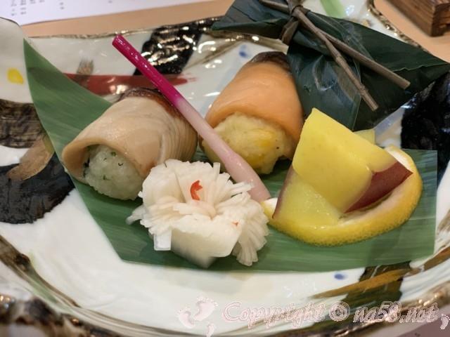 「ニューハートピア温泉ホテル長島」揖斐会席の夕食の焼き物