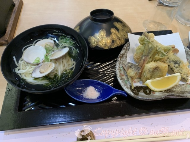 「ニューハートピア温泉ホテル長島」揖斐会席の夕食の凌ぎと揚げ物