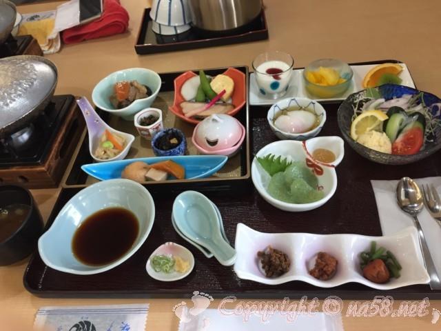 「ニューハートピア温泉ホテル長島」朝食