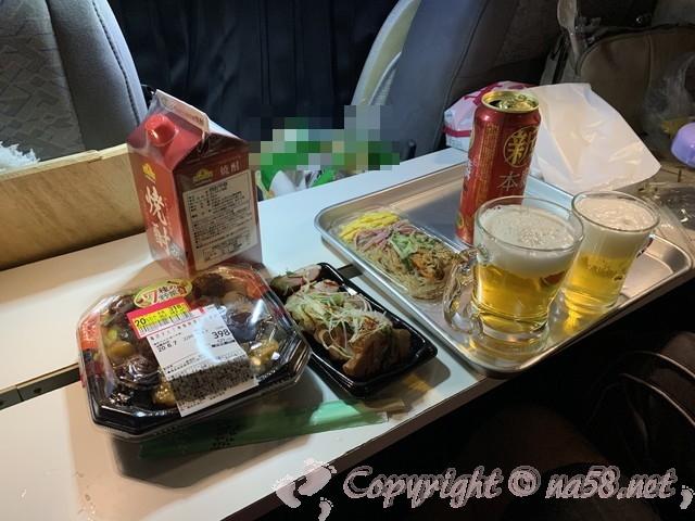 「道の駅飯高駅」(三重県松阪市)車中泊、夕食はスーパーで調達
