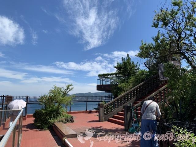 熱海の錦ヶ浦、伊豆の景勝地、レンガの道と散策路