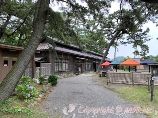 沼津御用邸記念公園(静岡県沼津市)喫茶とそば処